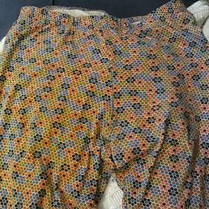 american apparel flower leggings